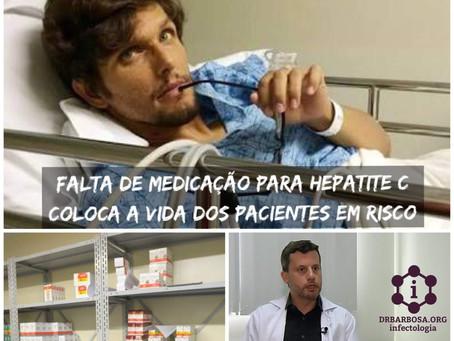 Falta de Medicação para Hepatite C coloca a vida dos pacientes em risco