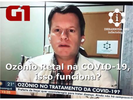 Ozônio Retal na COVID-19, isso funciona?