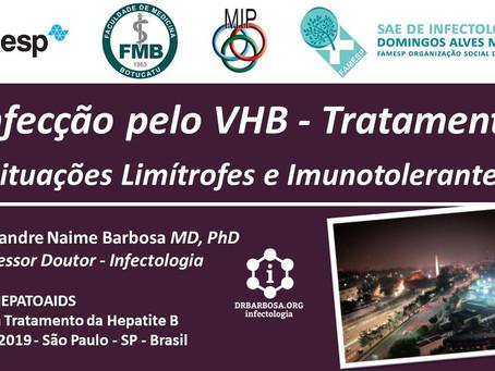 Tratamento VHB - Limítrofes Imunotolerantes 2019