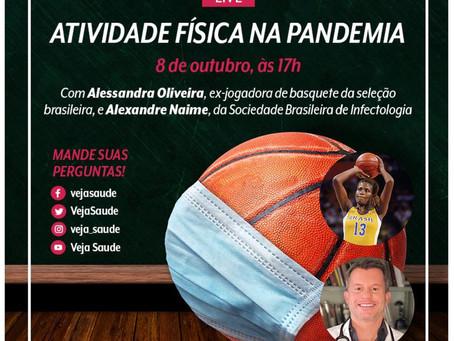 LIVE - Revista Veja Entrevista Medalhista Olímpica Alessandra Oliveira e o Dr. Alexandre Barbosa