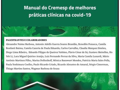Manual de Melhores Práticas Clínicas na COVID-19 CREMESP