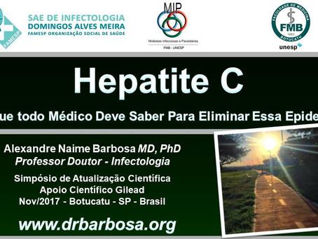 Hepatite C - O Que todo Médico Deve Saber Para Eliminar Essa Epidemia