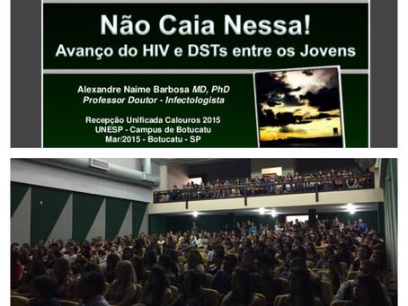 Avanço do HIV e DSTs entre os Jovens - Não Caia Nessa!