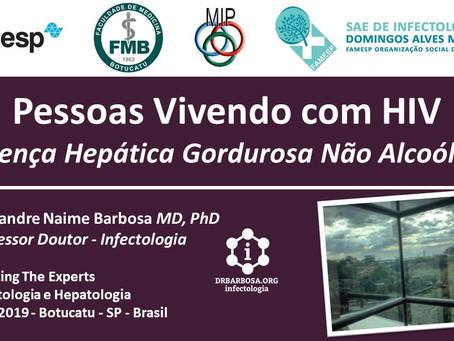 Doença Hepática Gordurosa Não Alcoólica em Pessoas Vivendo com HIV 2019