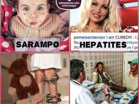 Sarampo, Poliomielite, Hepatites Virais, Refugiados e outros temas atuais - Confira um bate-papo inf