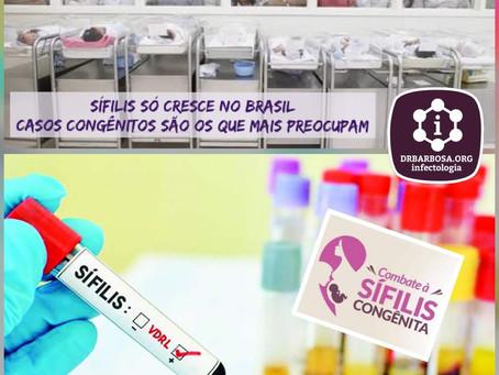 A Epidemia de Sífilis Continua Forte