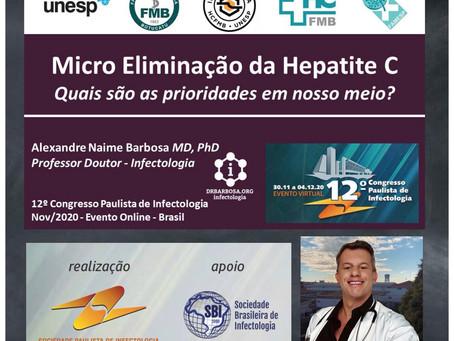Micro Eliminação da Hepatite C - Quais são as prioridades em nosso meio?