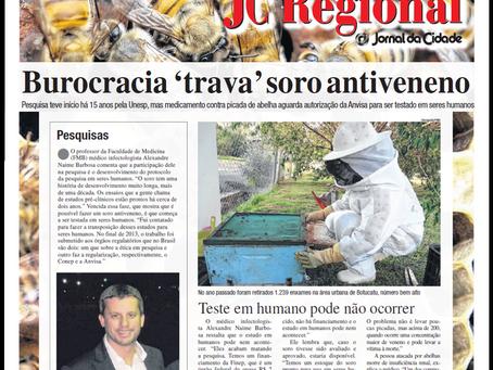 Unesp de Botucatu pesquisa soro para picada de abelha, mas burocracia trava teste em seres humanos