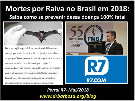 Mortes por Raiva no Brasil: saiba como se prevenir dessa doença 100% fatal
