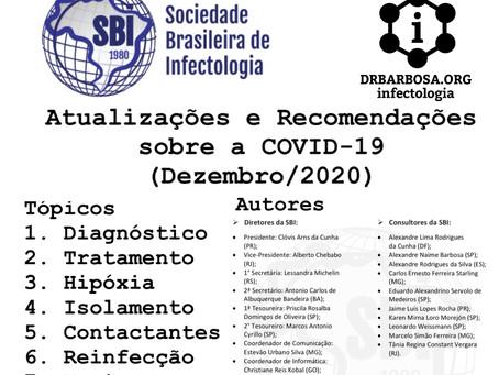 Resumão Atualizado da COVID-19 em Dez/2020 - Sociedade Brasileira de Infectologia