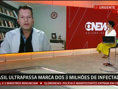 Como é ser Médico na linha de frente COVID no Brasil das 100.000 mortes pela Pandemia?