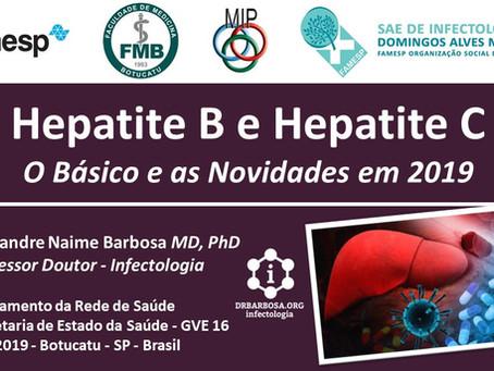 Hepatite B e Hepatite C - O Básico e as Novidades em 2019