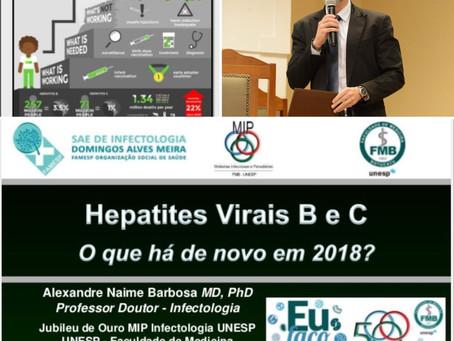 Hepatites Virais B e C - O que há de novo em 2018?