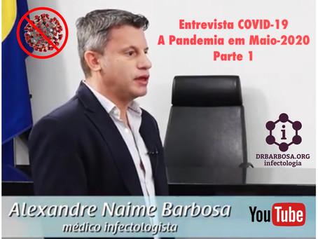 COVID-19: Panorama Geral da Pandemia e da Doença (Parte 1)