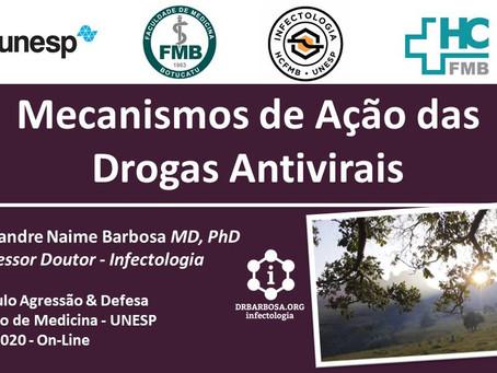 Mecanismos de Ação das Drogas Antivirais - Palestra Módulo Agressão-Defesa