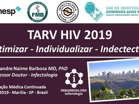 TARV HIV 2019 - Otimizar - Individualizar - Indectectar
