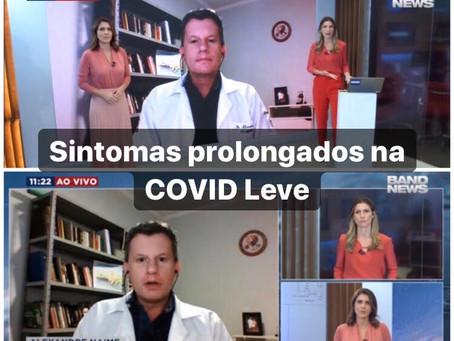 Sintomas prolongados na COVID leve: a face subaguda da doença
