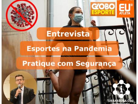 Esportes na Pandemia - Pratique com Segurança