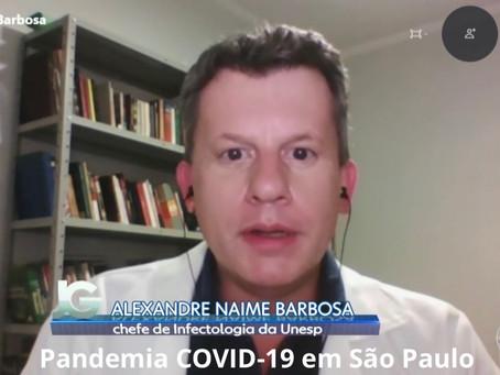 Pandemia COVID-19 se mantém ativa em São Paulo, apesar de tendência de queda em algumas regiões