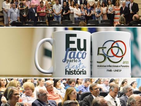 Jubileu de Ouro da MIP Infectologia UNESP - Uma Celebração Histórica e Emocionante (Vídeos, Fotos e