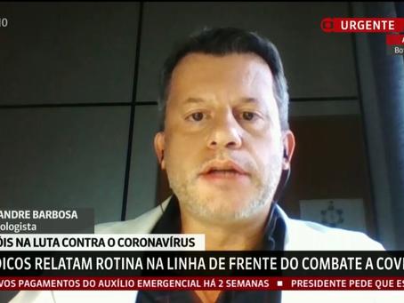 Infectologista do HC FMB UNESP Botucatu e Médicos de todo o Brasil relatam a rotina na linha de fren
