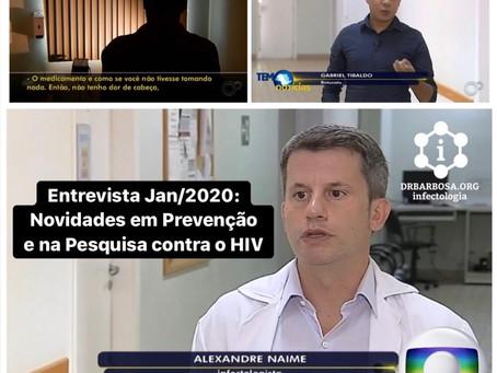 Novidades em Prevenção e na Pesquisa contra o HIV