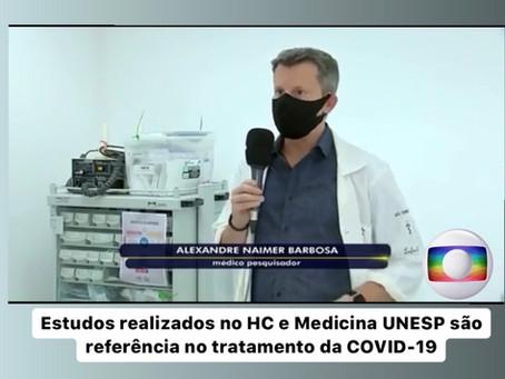 Estudos realizados no HC e Medicina UNESP são referência no tratamento da COVID-19