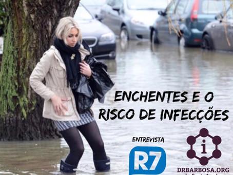 Enchentes e o Risco de Infecções