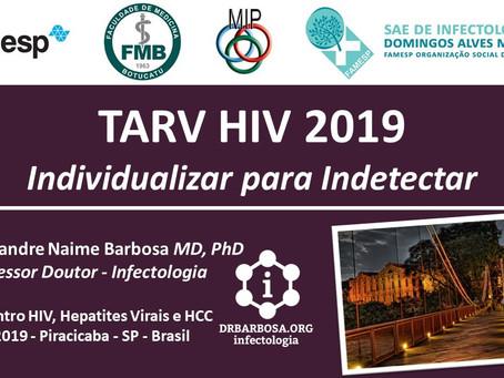 TARV HIV 2019 - Individualizar para Indetectar