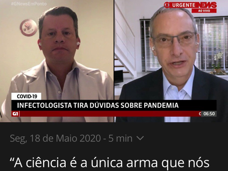 A Ciência é nossa única arma efetiva contra a Pandemia COVID