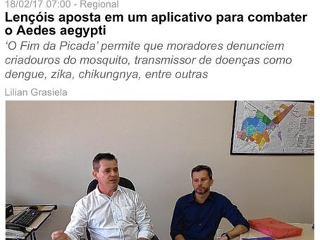 Lençóis aposta em um aplicativo para combater o Aedes aegypti