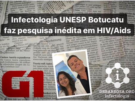 Infectologia UNESP Botucatu faz pesquisa inédita para reduzir drogas no coquetel de pacientes com HI