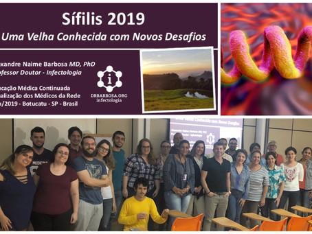 Sífilis 2019 - Uma Velha Conhecida com Novos Desafios