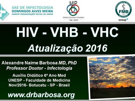 HIV - Hepatite B - Hepatite C - Atualização 2016