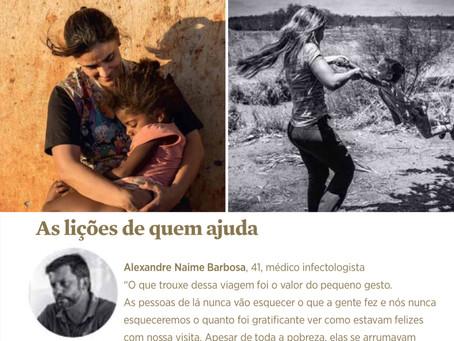 Fora da zona de conforto - Expedição Médica ao Piauí - Revista Personnalité 2017
