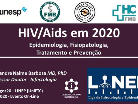 HIV/Aids em 2020: Epidemiologia, Fisiopatologia, Tratamento e Prevenção