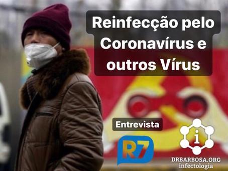 Qual o Risco de Reinfecção por um Vírus, como o Coronavírus?