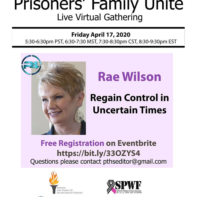 Rae Wilson -Regain Control in Uncertain Times