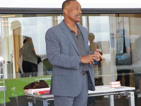 Dr. Geoff Johnson Spoke at a Men's Fellowship Gathering About Diversity