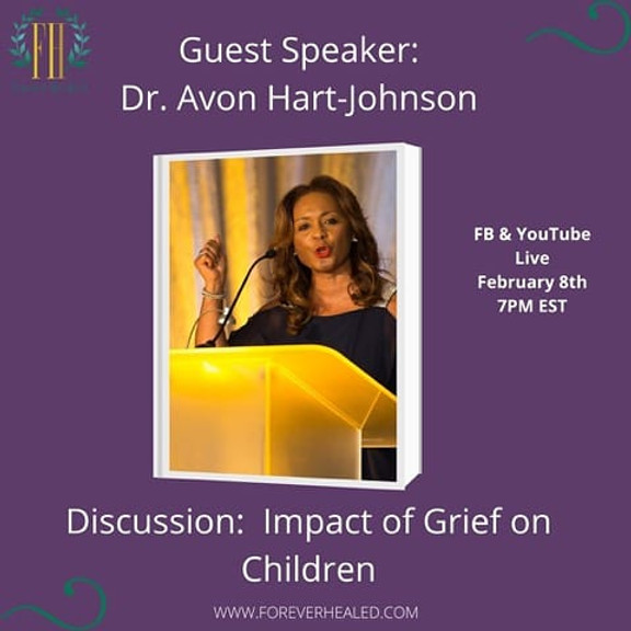Dr. Avon Hart-Johnson Guest of 4Ever Healed