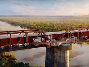 Up High With Kruger Shalati, The Train On The Bridge