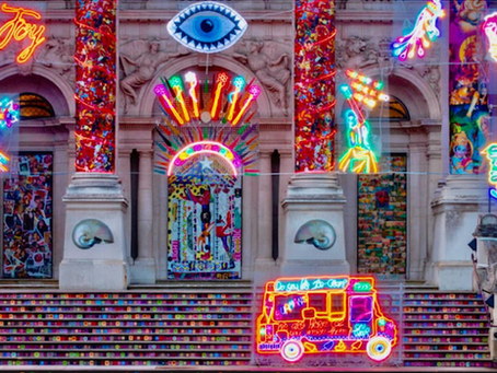 Feast For The Senses: Festive Neon Lights Up Tate Britain