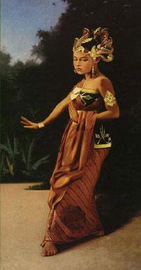 A Portrait of Princess of Yogyakarta as a Serimpi Dancer