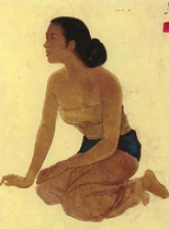Seated Lady