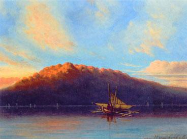 Ships in an Indonesian Bay