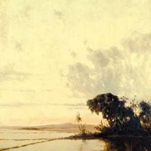 Sawah at Sunset