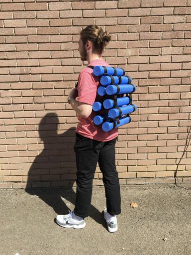 Roller Backpack - up