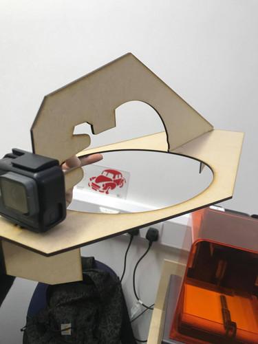 Development - Laser cut inner shell