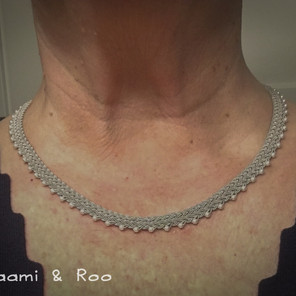 Netted Pearl Necklace