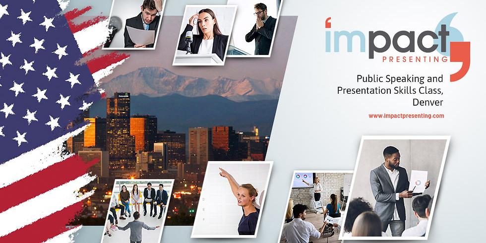 2-Day Denver IMPACT Presenting